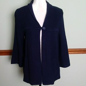 Crown & Ivy small Navy cardigan with pockets